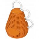 Rattle Caxixi orange