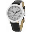 groothandel Merkhorloges: Horloge unisex Monte Carlo zwart