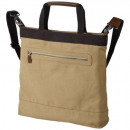 Großhandel Tücher & Schals: Elevate Tasche  Edmonton Canvas / Leder khaki