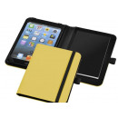 Großhandel Reiseartikel: PVC gelb Portfolio für Mini Tablet mit notit