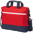 wholesale Bags & Travel accessories: Laptop bag Oakland 14 inch laptop navy with red
