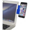 Clamp Connect Laptop Clip - royal blue