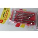 Precision  screwdriver set 6 pieces