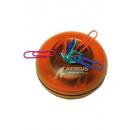 wholesale Consumer Electronics: Magnetic Paperclip holder around orange