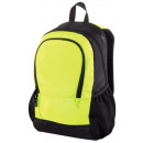 wholesale Backpacks: Backpack dark gray with lime