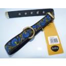wholesale Pet supplies: Necklace Snobdog  2.5 x 60 cm blue with lime