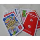 grossiste Cartes de vœux: logo Domino Cards  Money Game sur les cartes