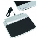 Mouse pad with 4  USB Ports and PC cable