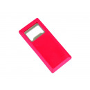 wholesale Thermos jugs: Bottle opener  rectangular model red