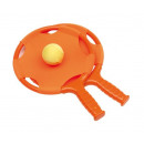 wholesale Aquatics & Beach: Beach ball set HAVE FUN orange