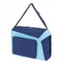 Shoulder bag   Evolution  600D blue with light blue