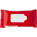 Großhandel Reinigung: Feuchttücher, 10 Stück rot