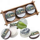 Bamboo bath set Damara green