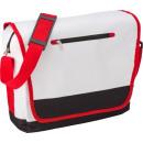 wholesale Handbags: Shoulder bag Basic Tab white. polyester (600D)