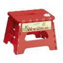 groothandel Klein meubilair: Krukje rood voor kinderen, opvouwbaar