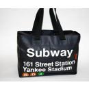 groothandel Boodschappentassen: Shopper  vergrootbaar zwart Subway