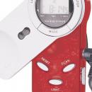 Radiowecker mit roten silbern