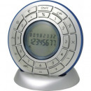 wholesale Business Equipment: Calculator around  with pedestal silver with blue