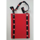 wholesale Business Equipment: Document holder A4 with lanyard red