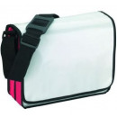 wholesale Consumer Electronics: Shoulder bag tarpaulin white with red