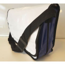 wholesale Consumer Electronics: Shoulder bag tarpaulin white with blue