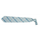 wholesale Shirts & Blouses: Franco Frego tie light blue with gray