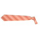 Großhandel Hemden & Blusen: Krawatte Franco Frego orange rot