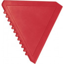 Ice scraper Triangle red
