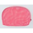 Großhandel Taschen & Reiseartikel: Make-up Tasche rosa Kunststoff