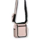 Großhandel Handtaschen: Schulter grau und  beige, verschiedene 21x21x4
