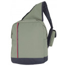 wholesale Backpacks: Backpack one  shoulder gray with black