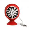 groothandel Computer & telecommunicatie: Siliconen mini  speaker met USB kabel, rood