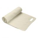 Großhandel Tücher & Schals: Gestrickter Schal aus Acryl mit appliziertem Label
