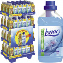 Lenor fabric  softener 550ml in 144er Mixdisplay