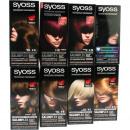 gerangschikt Syoss  haarkleuren in Mixkarton, 8-vou