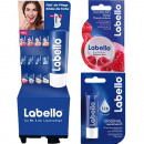 wholesale Drugstore & Beauty: Labello lip care  64er Mixdisplay 8x sort.