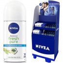 Nivea roll-on deodorant 50ml 96 Display