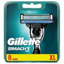 Gillette Mach3 blades of 8