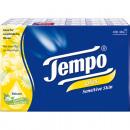 wholesale Toiletries: Tempo Plus  handkerchiefs 48x9 Chamomile + Aloe