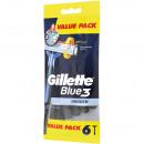 wholesale Shaving & Hair Removal: Blue3 Gillette  disposable razors 4 + 2 Free