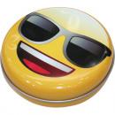 Emoji metaaltin 12x3,5cm Royalty-Ware!