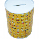 wholesale Gifts & Stationery: EMOJI metal  moneybox, Royalty-Ware!