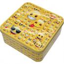 groothandel Opbergen & bewaren: Emoji metalen doos XL, 3 ontwerpen