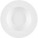 Assiette en porcelaine profonde 27x5cm blanc class