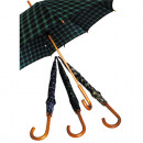 Check Umbrella 84cm Automatic Stock