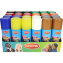 wholesale Toys: Hair Spray Color  Display / colored 125ml