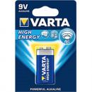 grossiste Batteries et piles: Batterie VARTA 9V  alcaline de haute énergie