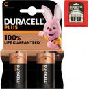 Batterie Duracell Plus bébé 2er MN1400
