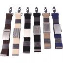 wholesale Fashion & Mode:Belts on card, 6 models