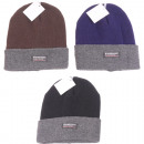 Winter hat knitted thermal